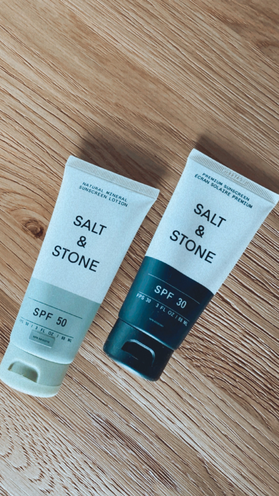 Salt + Stone Sunscreen Products