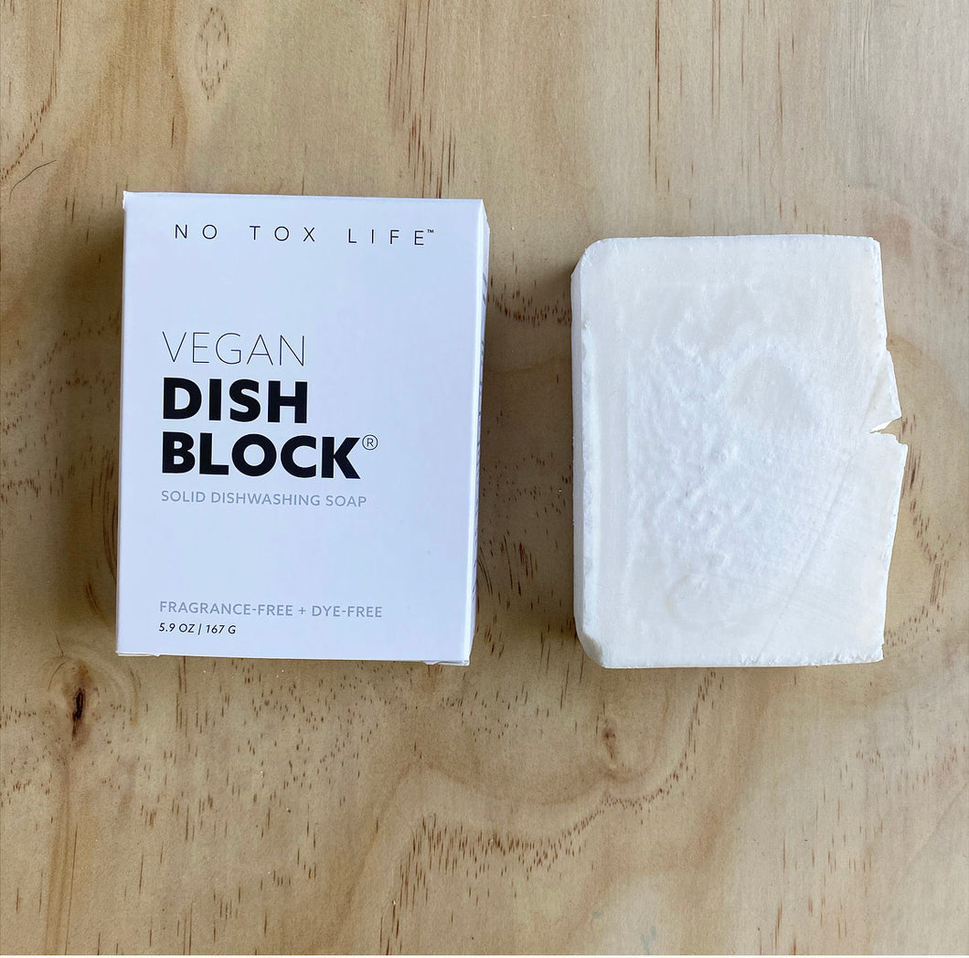 Unscented Dish Washing Block | options