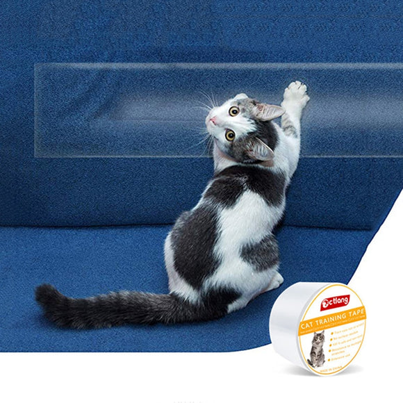 Cat Supplies Pet Sofa Protection Tape Cat Anti-scratch Protective Film Training Scotch Tape Home Sofa Floor Sticker Hot Sell