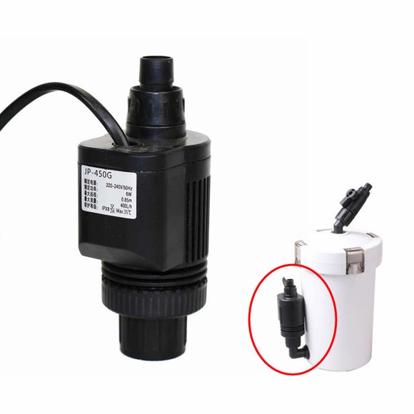 Special Water Pump New Version 6W For HW602B 603B External Filter Aquarium Fish Tank 400L/H