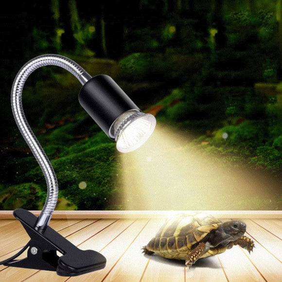 Reptile Bask Back Light 110V US Turtle Warming Lamp Full Spectrum UVA UVB Ultraviolet Bulb Low Consumption Pet Products 25/50/75