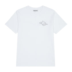 Playground Ice Cream Logo T-shirt In White