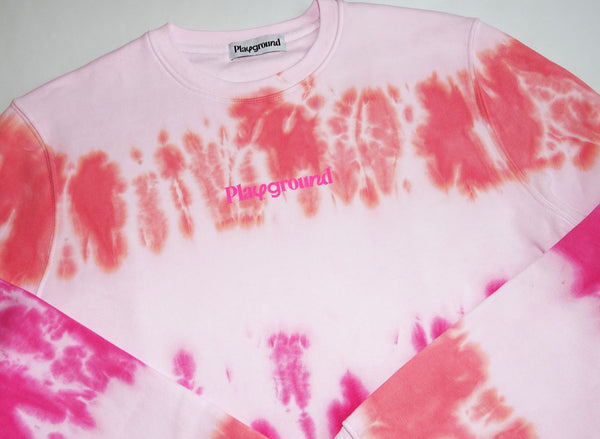Pink Tie Dye Sweat All The Pinks