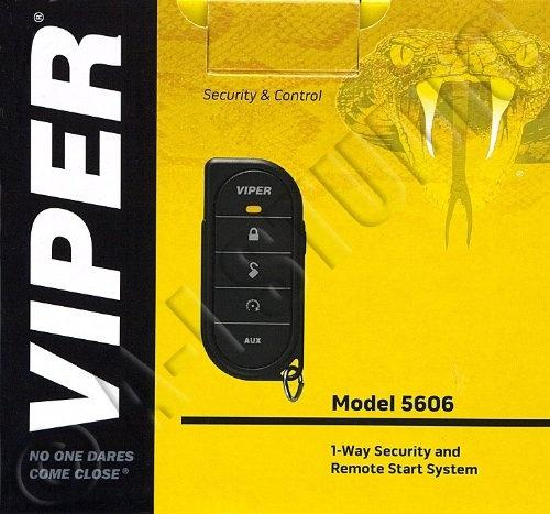 Viper 5606V One Way / 1 Remote SEC/RS SYS 1/2 Mile Range (2 Way Ready)