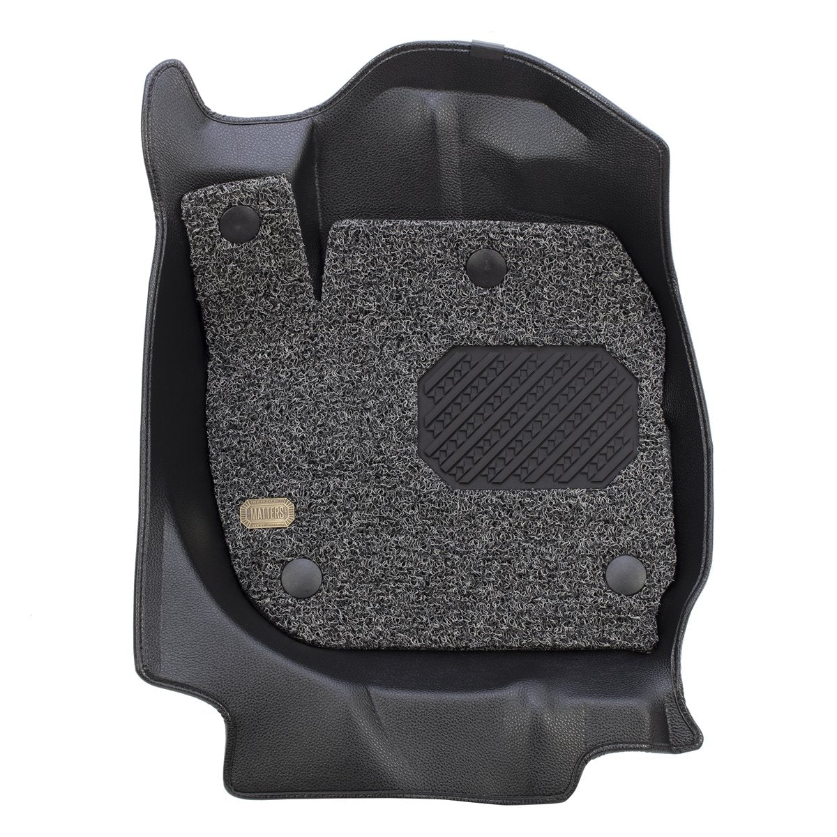 MATTERS 6D Car Mat - BMW 3 Series (Black) (F30)