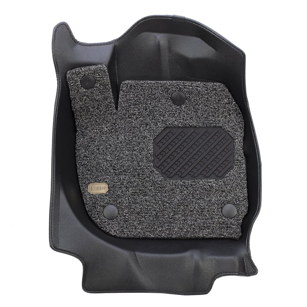 MATTERS 6D Car Mat - KIA Carens (Black) (RP)