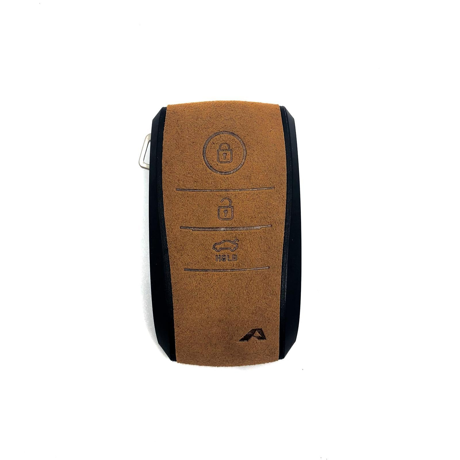 Aegis Car Key Holder - Aero Type for KIA (1900) - Brown