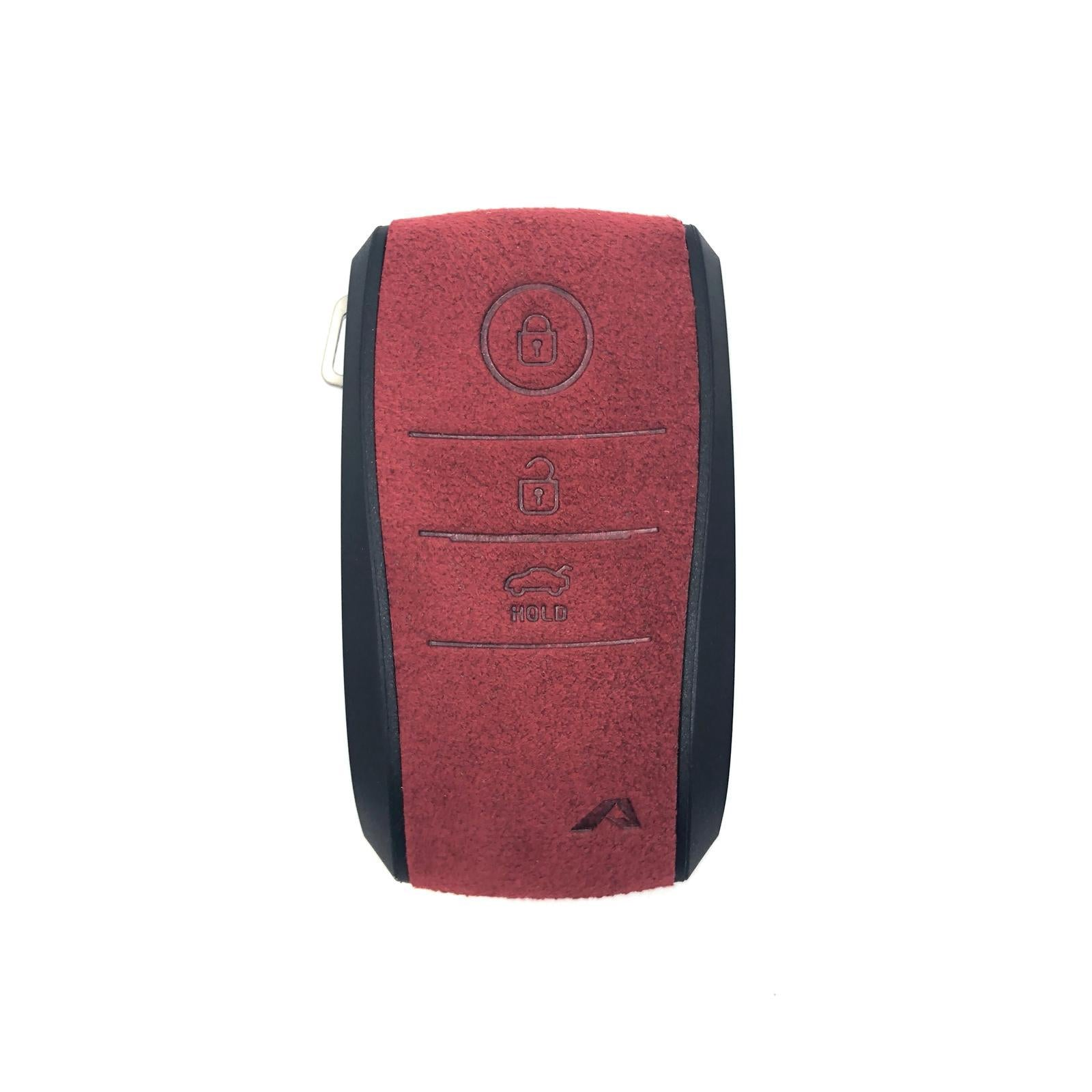 Aegis Car Key Holder - Aero Type for KIA (1900) - Red