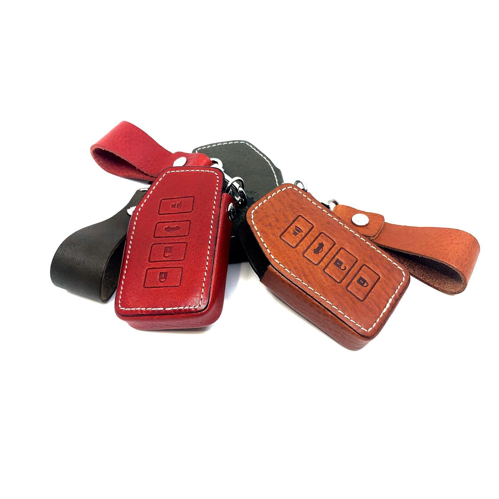 Aegis Car Key Holder - Ritz Type - LEXUS - Olive