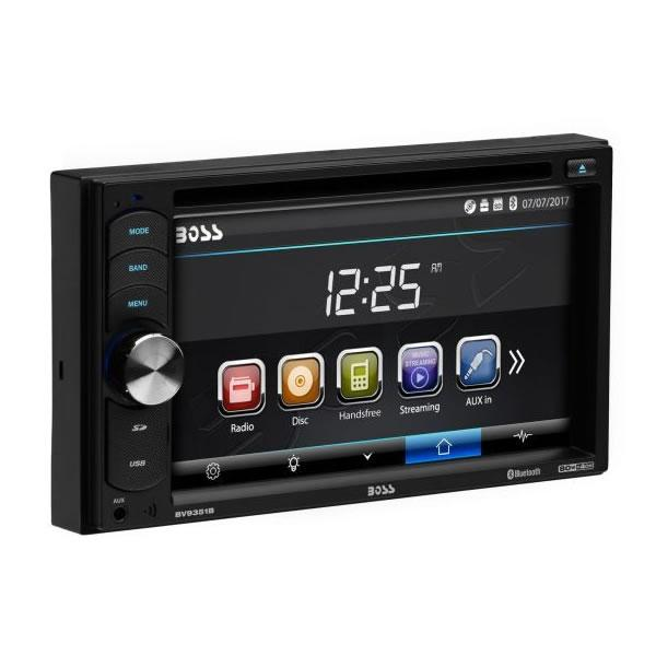 "BV9351B Boss Audio 6.2"" Double-DIN DVD Player"