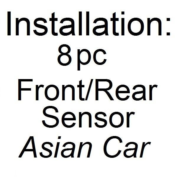 Installation - Parking Assist 8 Pcs Sensors (ASIAN CAR)