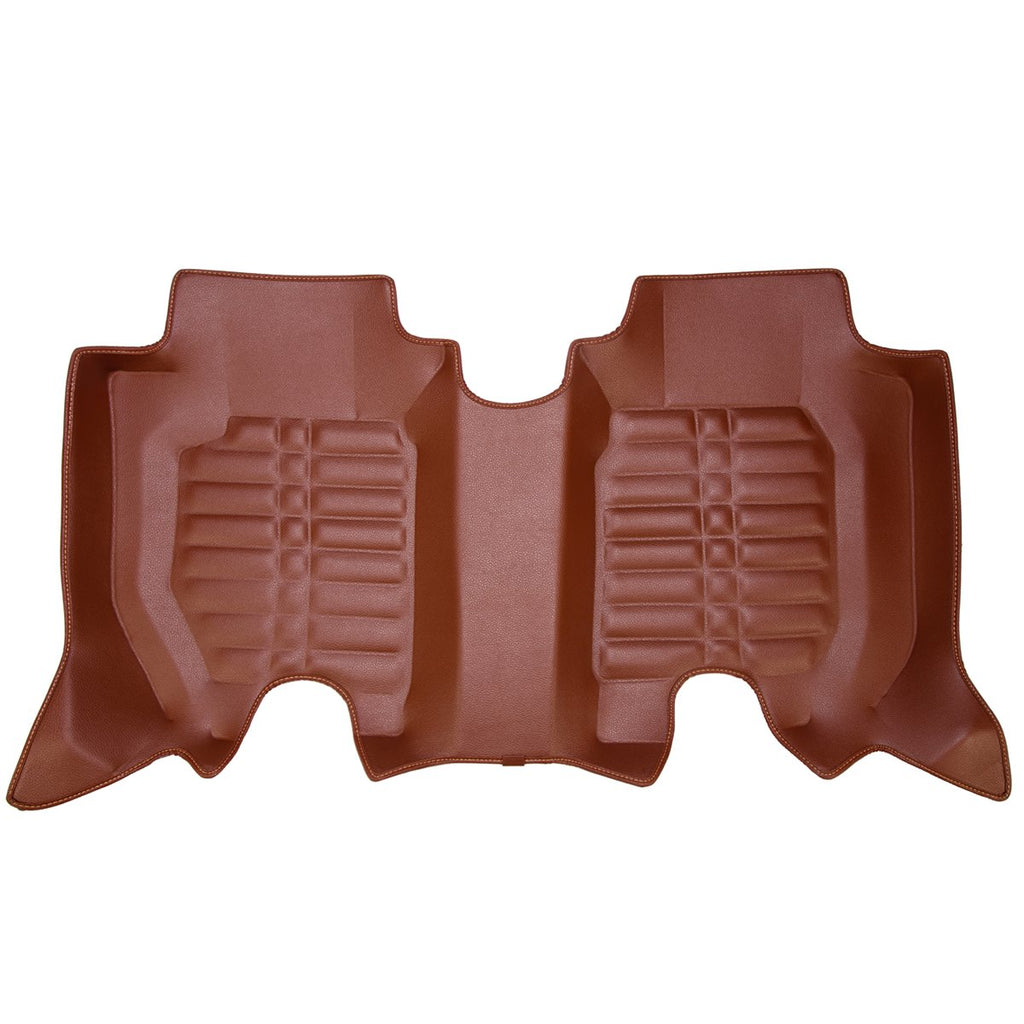3RD ROW 5D Car Mat - Toyota -tuner (Brown)