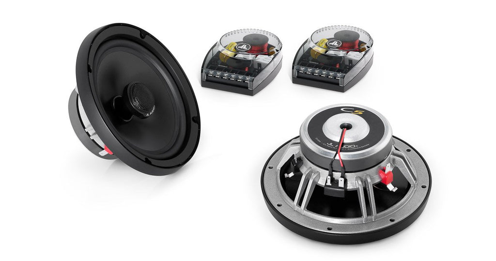 JL Audio C5-650x 6.5-inch (165mm) Coaxial with 0.75-inch (19mm) silk soft-dome tweeter