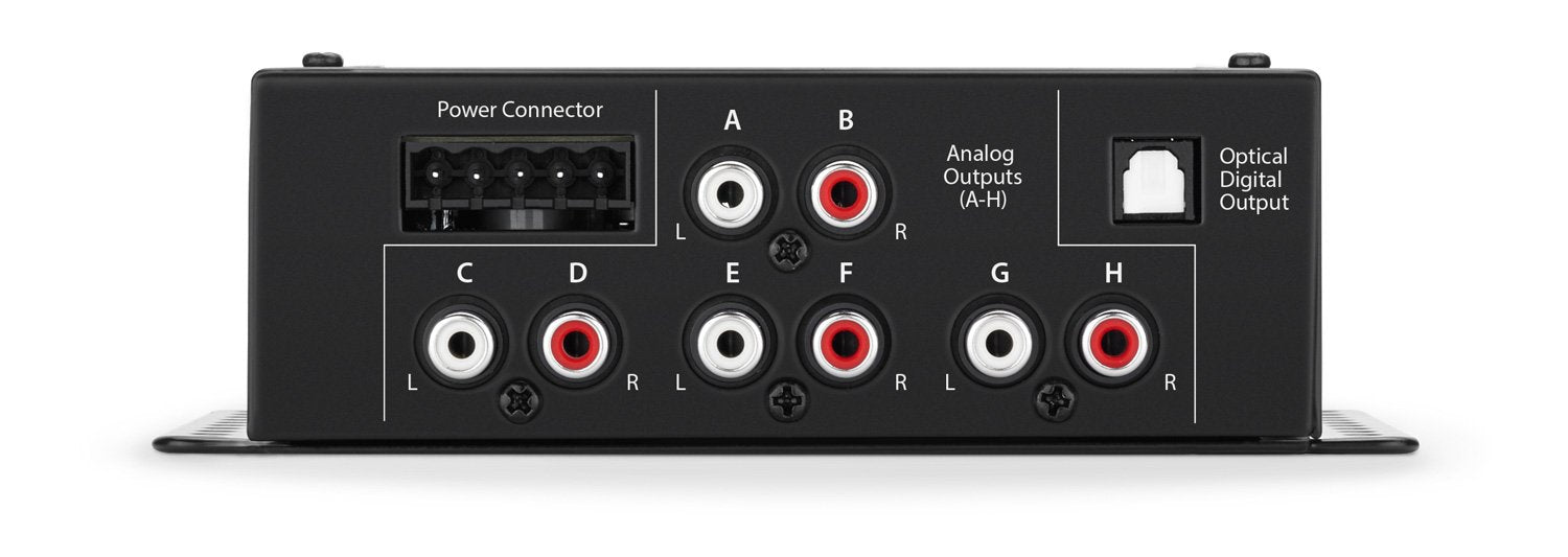 JL Audio TwK-D8 System Tuning DSP Digital INPUT ONLY / 8-ch. Analog OUTPUTS - DRC-200 Included