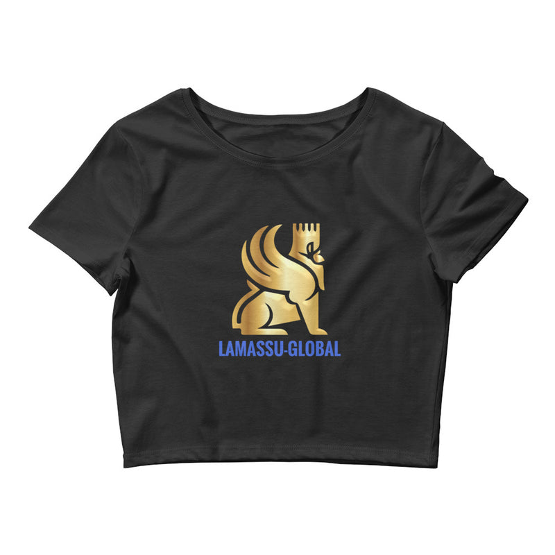 Lamassu-Global Women's Crop Tee - LAMASSU-GLOBALS