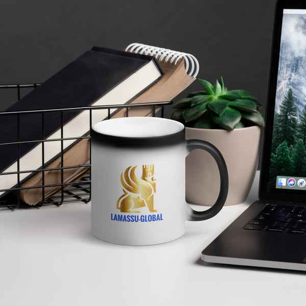 Lamassu-Global Matte Black Magic Mug - LAMASSU-GLOBALS