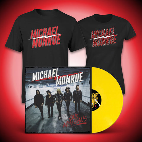Yellow Vinyl & Male or Ladies T-Shirt Bundle