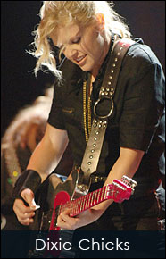 Natalie Mains of the Dixie Chicks