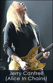 Jerry Cantrell of Alice and Chains