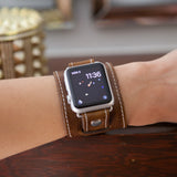 Leather Apple watch for all series I watches by Red Monkey