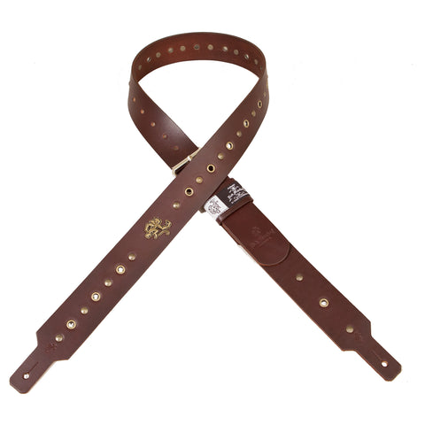 "LEATHER GUITAR STRAP ""AMMO 2.0"""