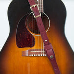 Vintage style guitar strap even Keith Richards would love.