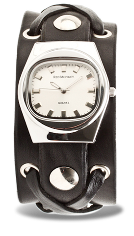 X-Strap Watch with Grey Vintage Dial