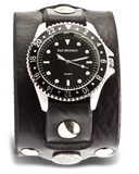Mens Monkey Band Diver - Black