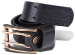 Double Prong Bronze Buckle & Strap
