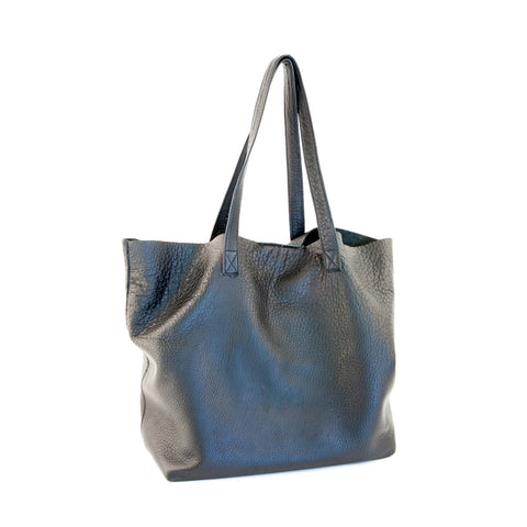 """Radically Loved"" Deerskin leather Tote"