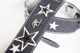 Star Strap for guitars made out of leather