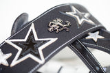 """STARCHILD PLATINUM BLACK"" GUITAR STRAP (one of one)"