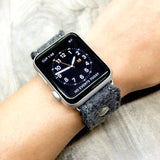Apple Watch band VEGAN-HIGH BORN (Charcoal)