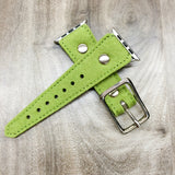 HIGH BORN (Lime) Apple Watch band in Felt (Vegan)