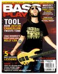 Bass Player Magazine with Justin Chancellor and his Fibonacci guitar strap by Red Monkey