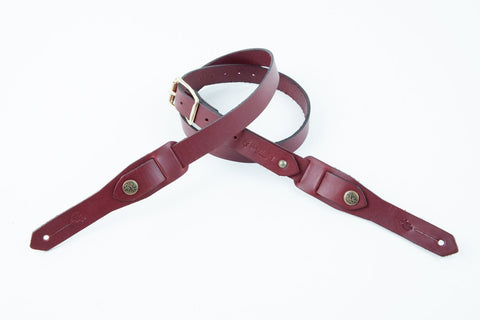 The Crosby guitar strap is perfect for both Acoustic and Electric guitars