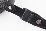 CROSBY GUITAR STRAP (BLACK/SILVER)