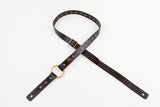 NASH GUITAR STRAP (BLACK/ANTIQUE BRASS)