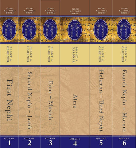 Second Witness: Analytical and Contextual Commentary on the Book of Mormon (Complete Six-Volume Set)