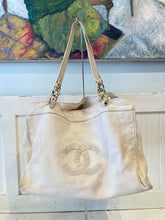 Load image into Gallery viewer, CHANEL Bone Leather Shoulder Purse
