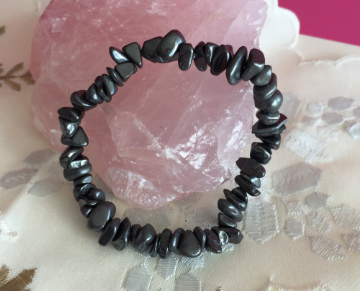 Hematite Bracelet infused with Reiki - Chakra Healing Store