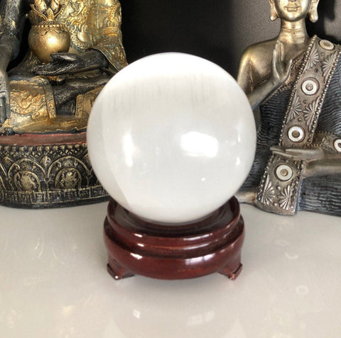 50mm Selenite Crystal Sphere