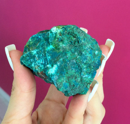 Chrysocolla Raw Extra-Large