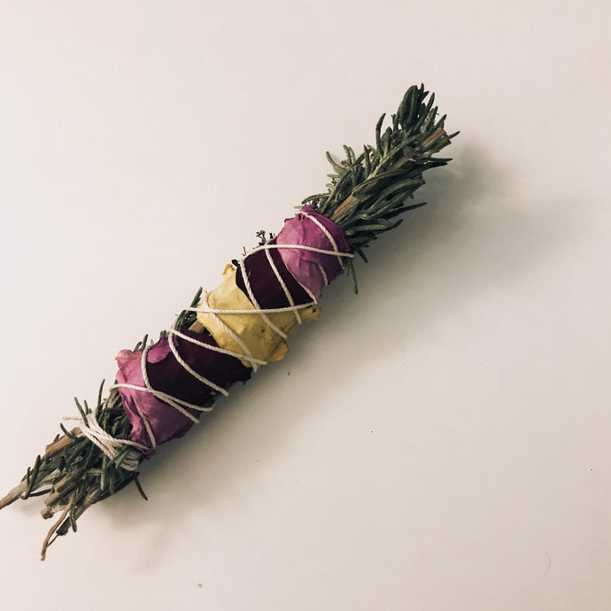 Lovers Gonna Love Mini Rosemary Smudge Stick
