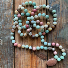 Load image into Gallery viewer, Exclusive Dharma Drops Handknotted Mala by Spiritual Junkies