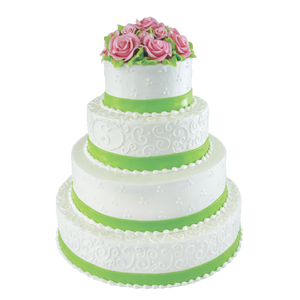 Apple Green Pink Roses