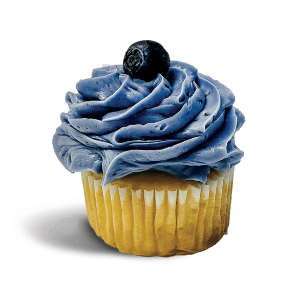 RR Blueberry Lemonade Cupcake