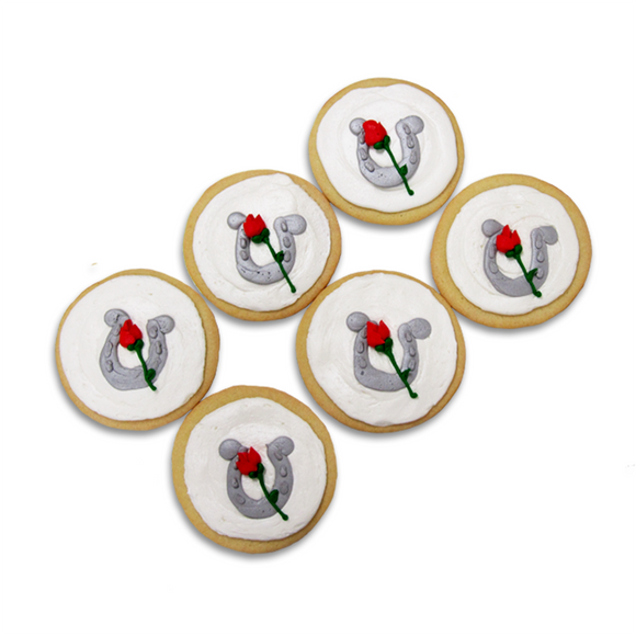 Horseshoe & Rose Cookies