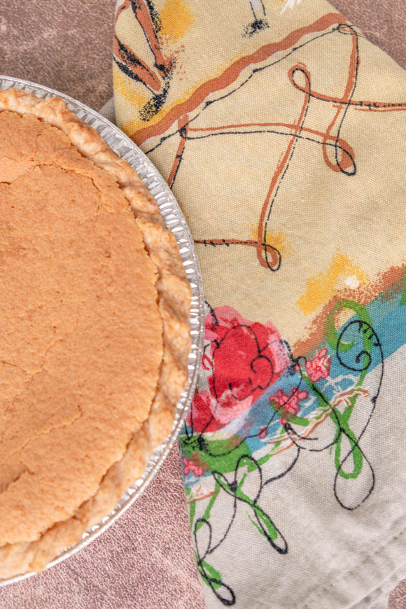 Bourbon Chess Pie