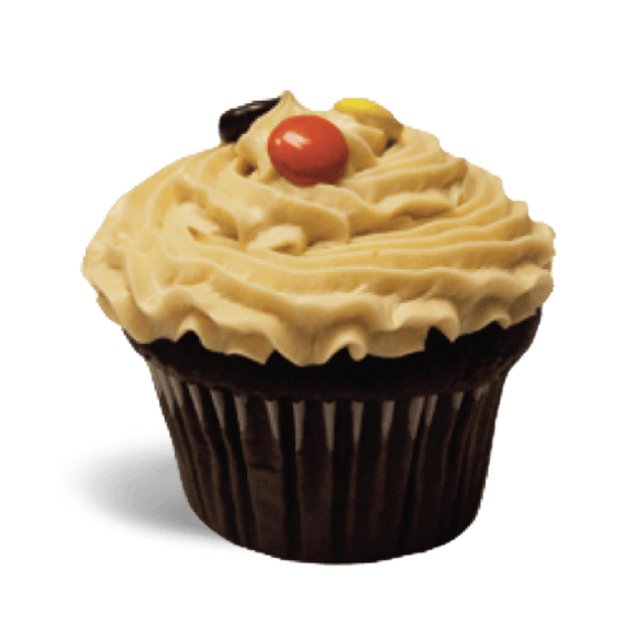 SD Peanut Butter Bliss Cupcake